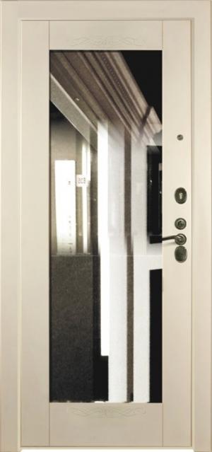 Дверная панель с зеркалом Нарцисс 06