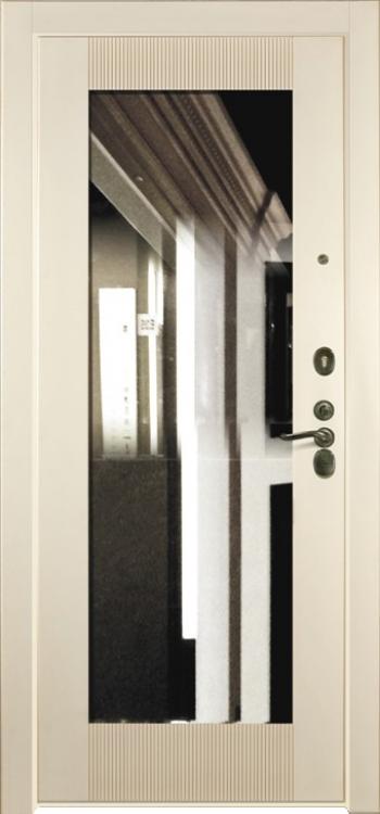 Дверная панель с зеркалом Нарцисс 07