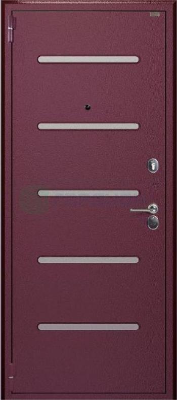 Отделка входных дверей № 137