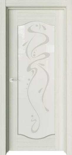 Межкомнатная дверь Престиж Классика с рисунком Абстракция