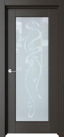 Межкомнатная дверь Престиж с рисунком Абстракция