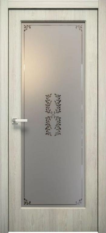 Межкомнатная дверь П 10 остекленная