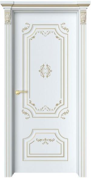 Дверь Руан 1 Ажур патина золото