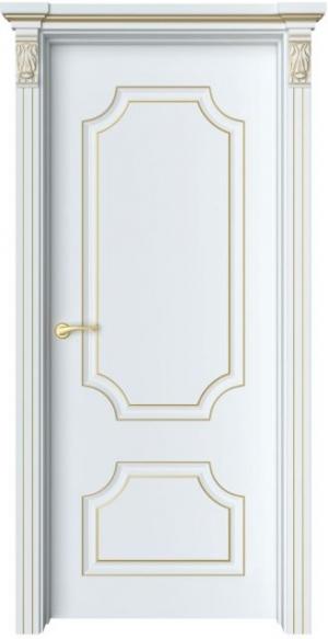Дверь Руан 1 патина золото
