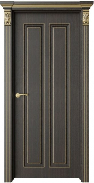 Дверь Санте 1 патина золото