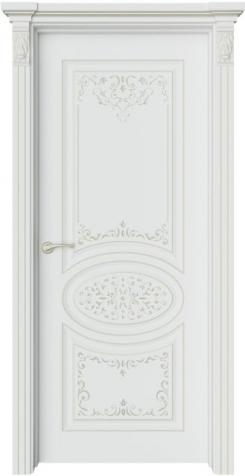 Дверь Шарм 1 Ажур патина шампань