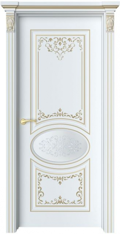 Дверь Шарм 2 Ажур патина золото