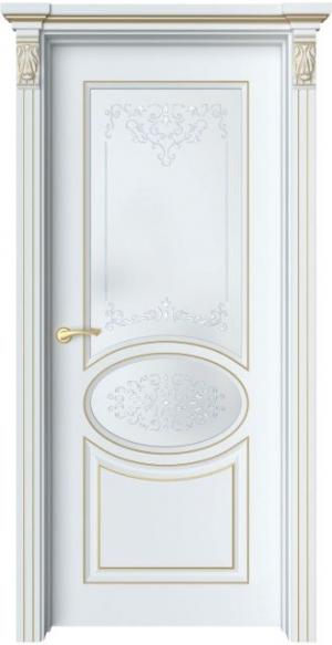 Дверь Шарм 4 патина золото