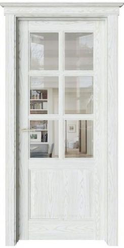 Межкомнатная дверь Соната Sonata S14 прозрачное стекло
