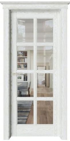 Межкомнатная дверь Соната Sonata S16 прозрачное стекло