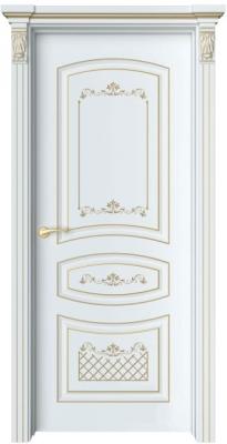 Дверь Адель 1 Ажур патина золото
