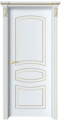 Дверь Адель 1 патина золото
