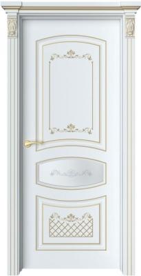 Дверь Адель 2 Ажур патина золото
