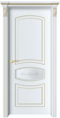Дверь Адель 2 патина золото
