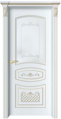 Дверь Адель 3 Ажур патина золото