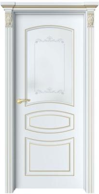 Дверь Адель 3 патина золото