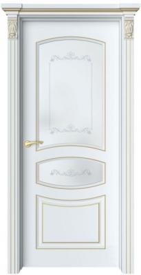 Дверь Адель 4 патина золото