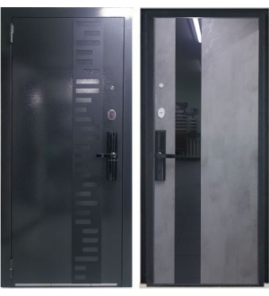Дверь Техно 4 с биометрией
