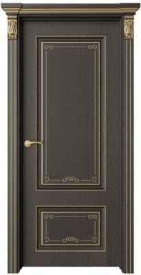 Дверь Эвиза 1 Деко патина золото
