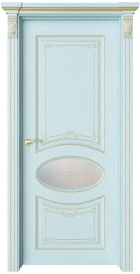 Дверь Флоранж 2 Деко патина золото