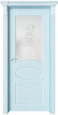 Дверь Флоранж 3 патина белая