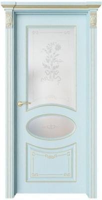 Дверь Флоранж 4 Деко патина золото