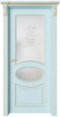 Дверь Флоранж 4 патина золото