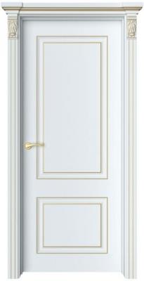 Дверь Лоран 1 патина золото