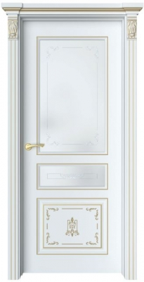 Дверь Мартен 4 Ажур патина золото