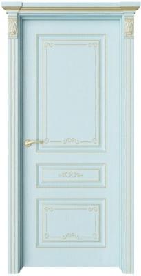 Дверь Мирбо 1 Деко патина золото