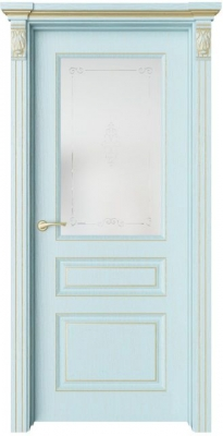 Дверь Мирбо 3 патина золото