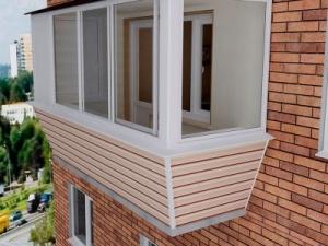 Отделка, утепление балконов и лоджий
