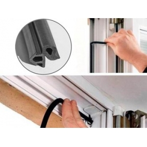 Замена уплотнителя на окнах и дверях