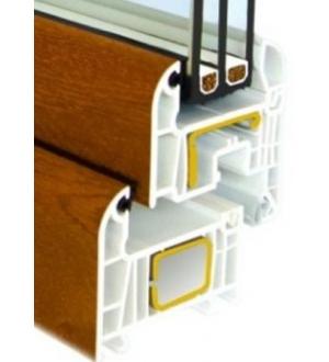 Окна Satels Optimum 72, ламинированные