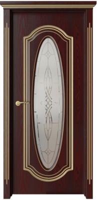 Дверь Оливия с патиной