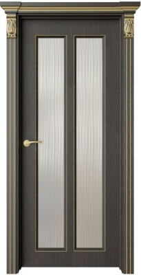 Дверь Санте 2 патина золото