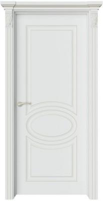 Дверь Шарм 1 патина шампань