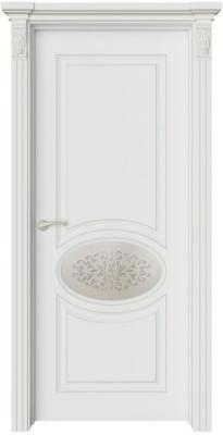 Дверь Шарм 2 патина шампань