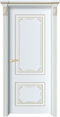 Дверь Венсен 1 Ажур патина золото