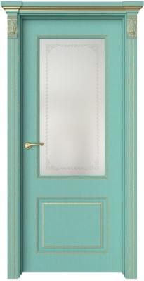 Дверь Венсен 2 патина золото