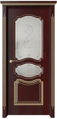 Дверь Виктория с патиной