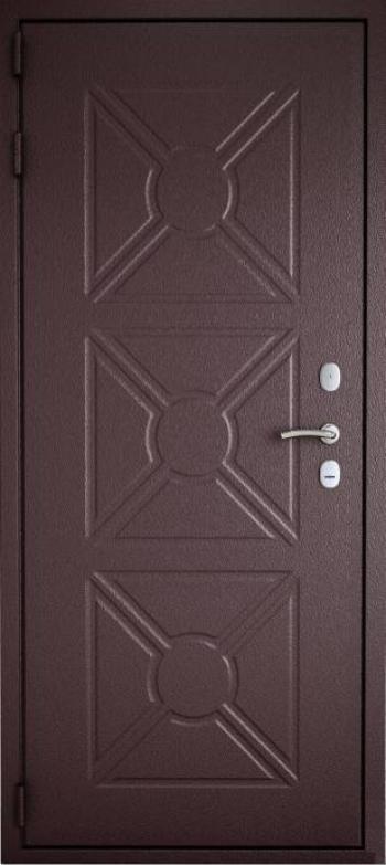 Уличные двери с отделкой 170