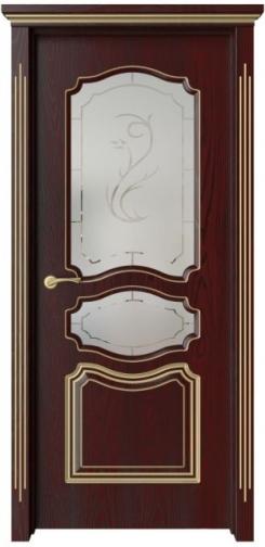 Межкомнатная дверь Виктория с патиной