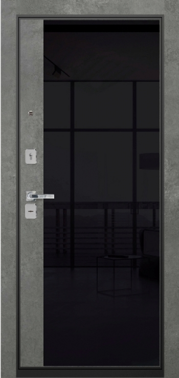 МДФ панель Витра 01 со стеклом