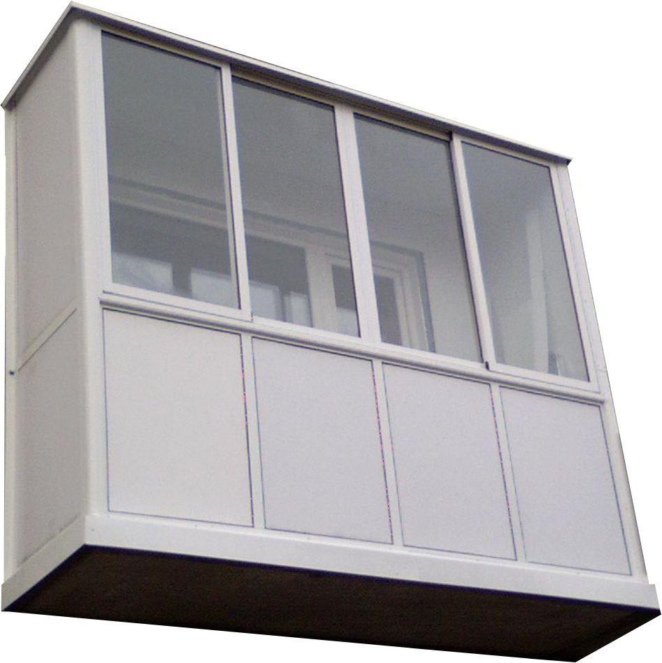 Остекление балконов и лоджии.