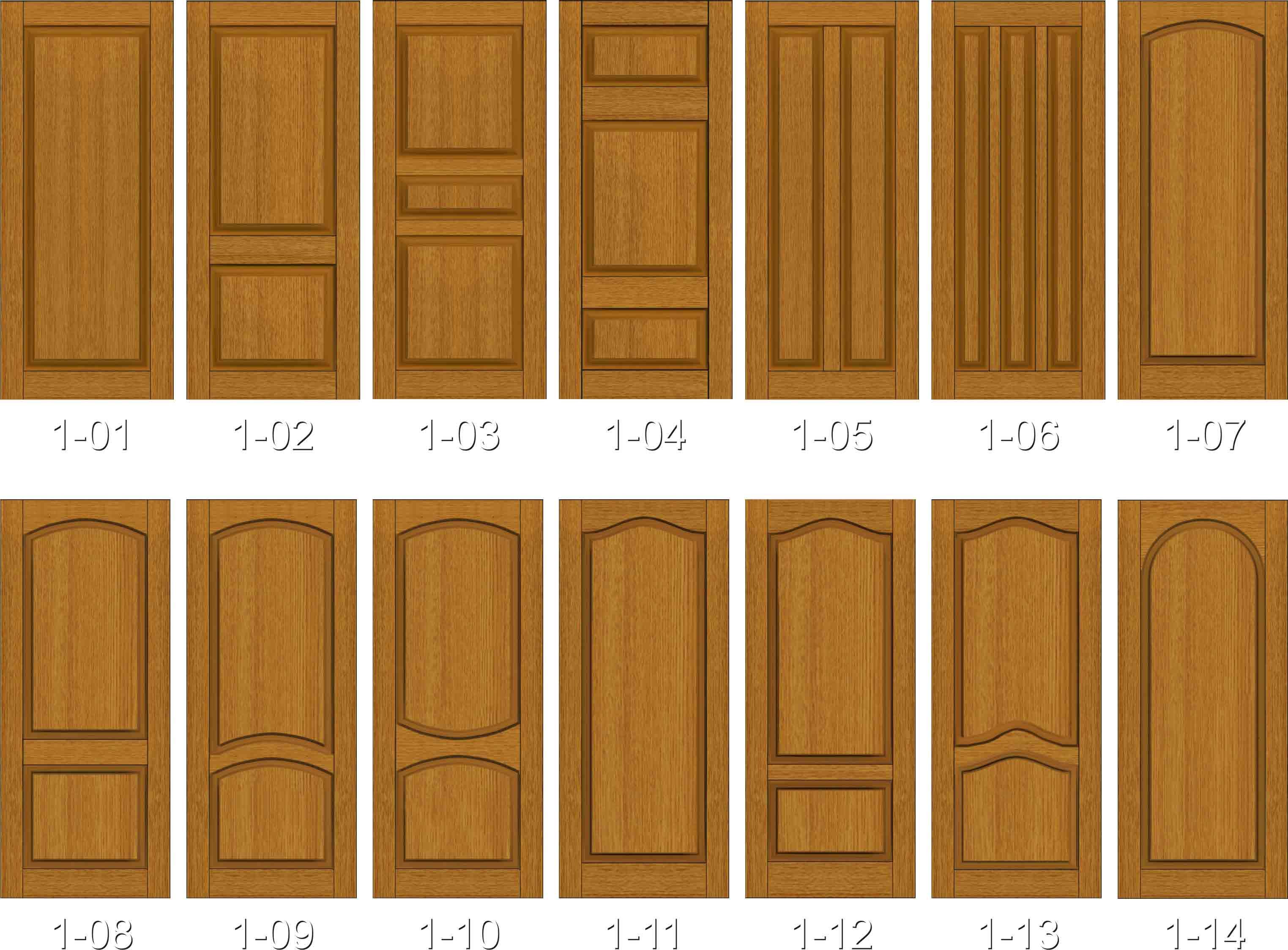 образци металлических филенчатых дверей