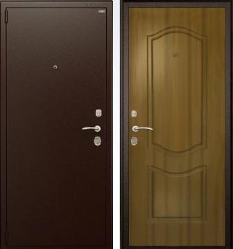 железные двустворчатые двери в коридор дешевые купить в москве