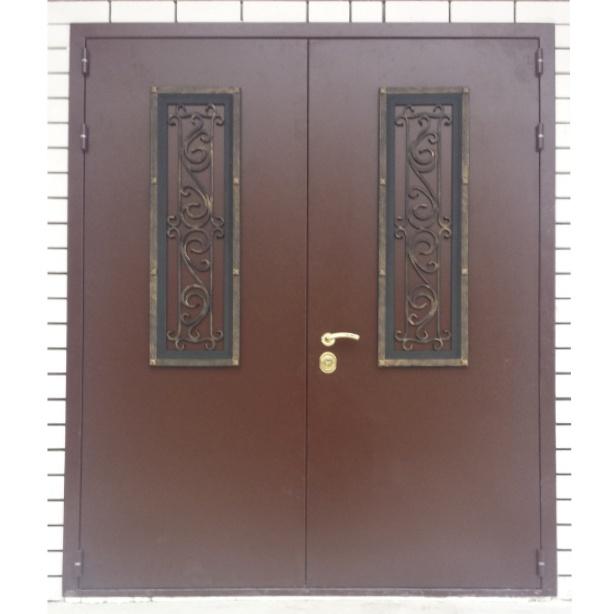 двери металлические входные уличные 220 95
